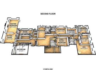 2 Fargo 2nd Floor 3D