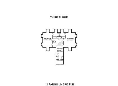 2 Fargo Ln 3rd Floor (Scale)