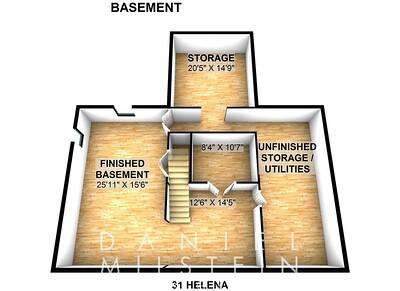 31 Helena - Basement 3D