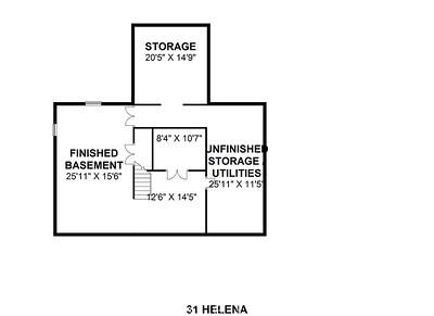 31 Helena - Basement