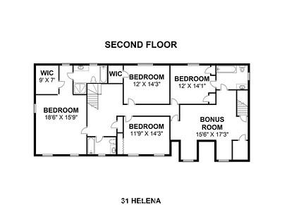 31 Helena - Second Floor