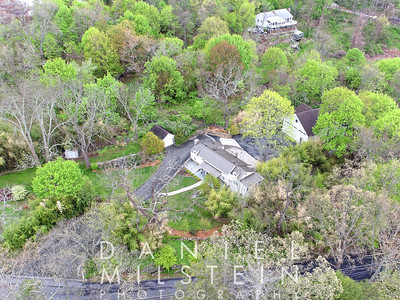 100 Old Lake St aerial 02