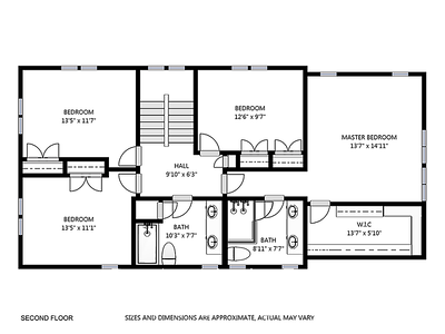 10 Irvine Rd plan C - 2nd floor
