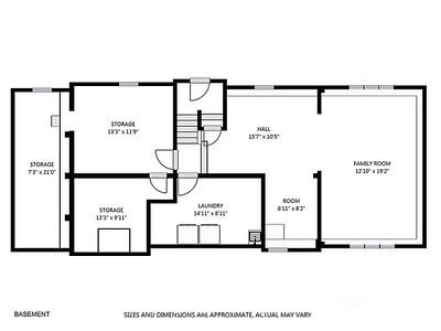 10 Irvine Rd plan A - basement