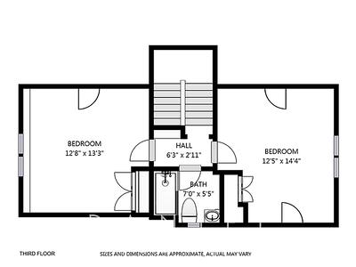 10 Irvine Rd plan D - 3rd floor