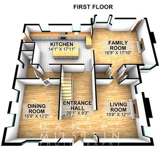 215 Milbrooke Ave - Floor 1-3D