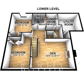 215 Milbrooke Ave - Floor 0-3D