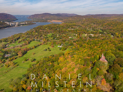 Castle on Old Stone Rd aerial 61