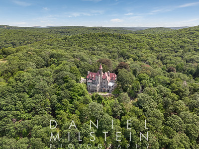 Castle on Old Stone Rd aerial 22