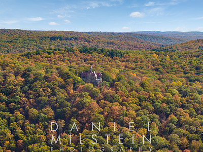 Castle on Old Stone Rd aerial 48