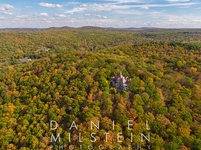 Castle on Old Stone Rd aerial 62