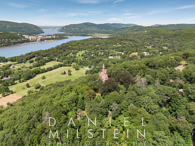 Castle on Old Stone Rd aerial 27