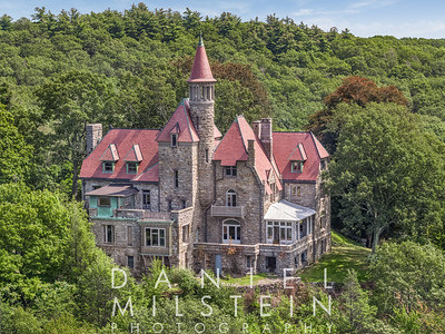 Castle on Old Stone Rd aerial 04