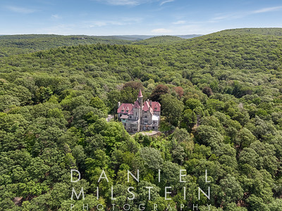 Castle on Old Stone Rd aerial 21