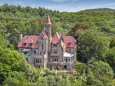 Castle on Old Stone Rd aerial 02