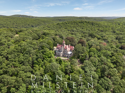 Castle on Old Stone Rd aerial 23