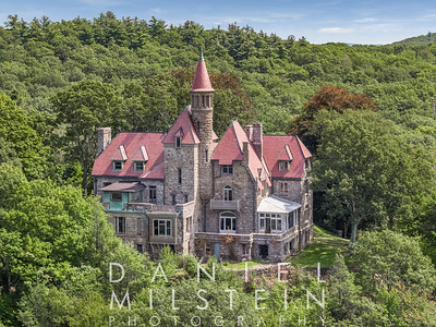 Castle on Old Stone Rd aerial 03