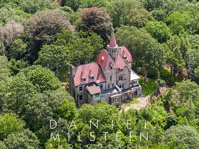 Castle on Old Stone Rd aerial 05