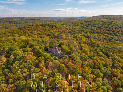Castle on Old Stone Rd aerial 63