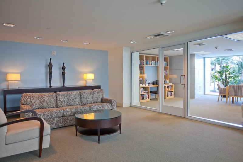 Real Estate MLS Shot, Common Area Library, The Regatta