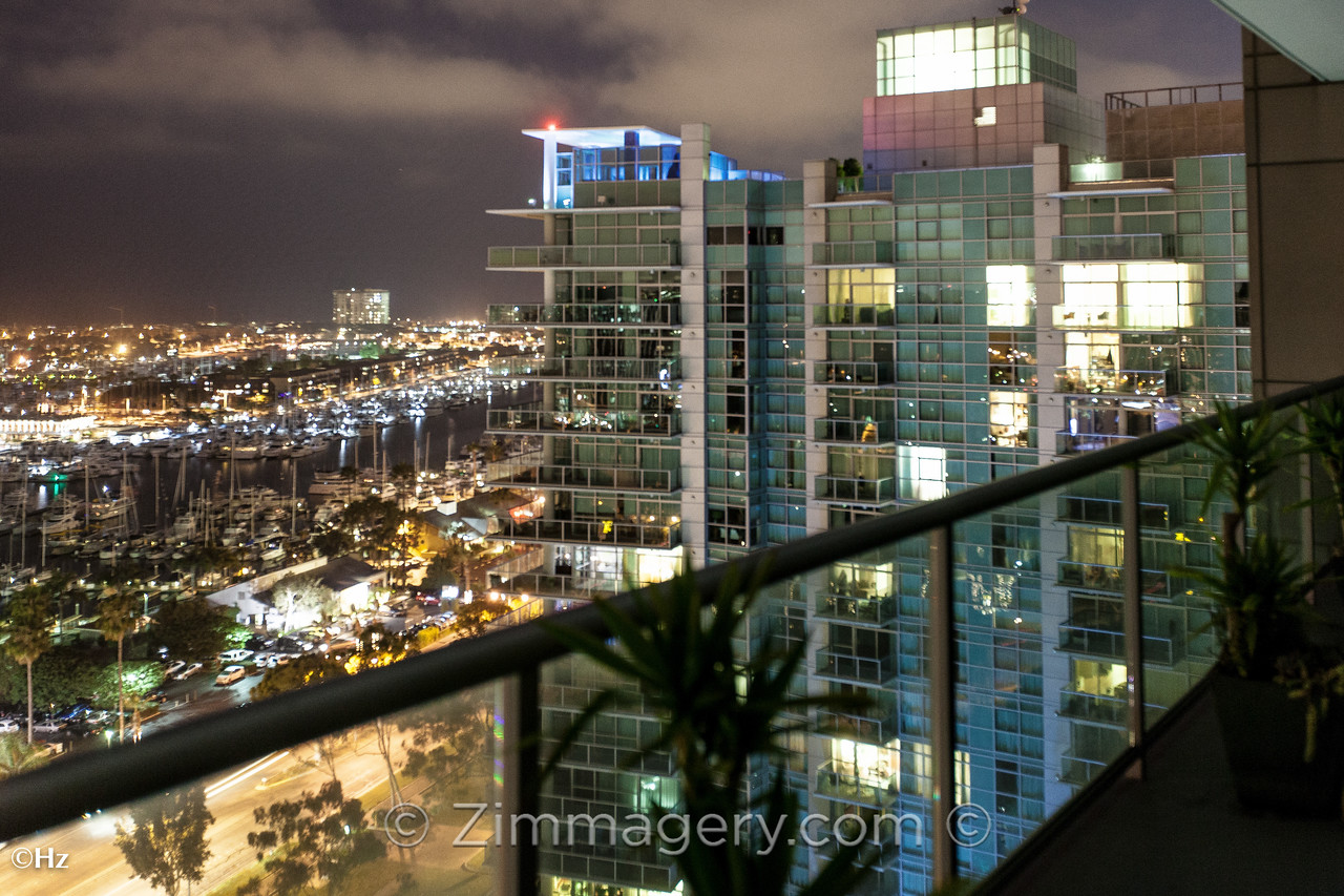 Real Estate MLS Shot, Night Balcony, The Cove