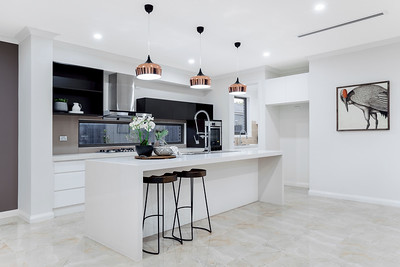 Contemporary Kitchen with Minimal Styling