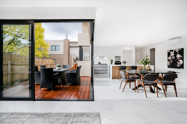 Interior and Exterior Living Spaces Combined