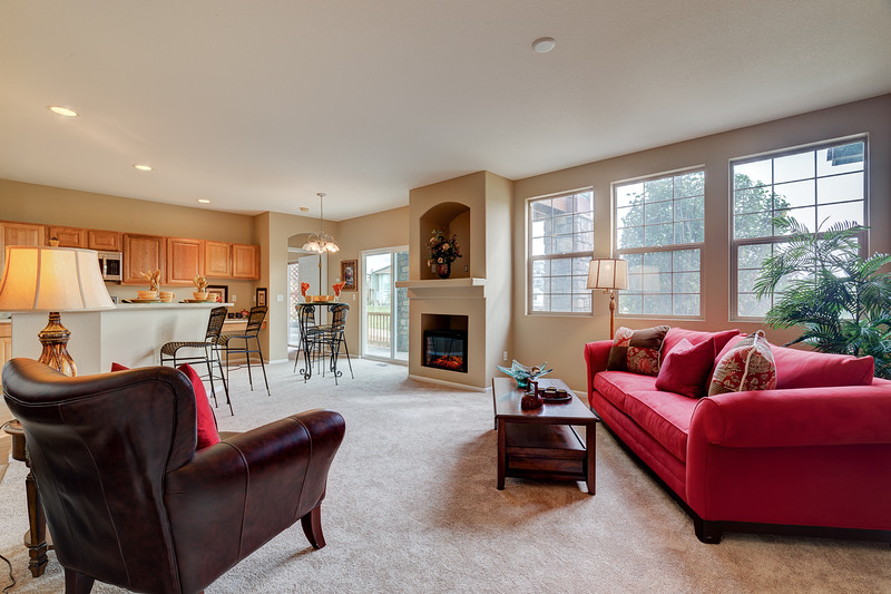 2 Entry - Living Room