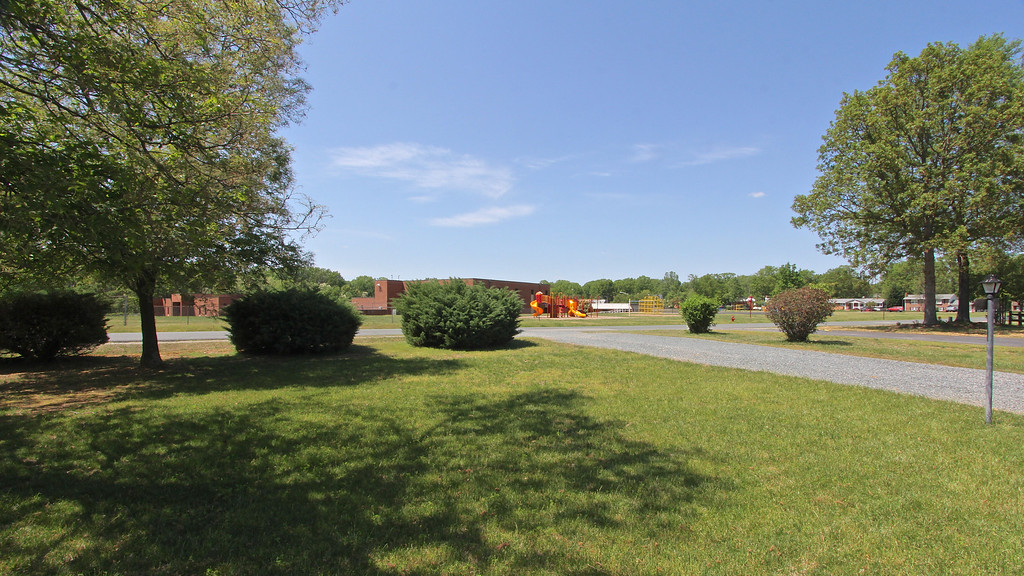 View from front yard of Spotswood Elementary School.