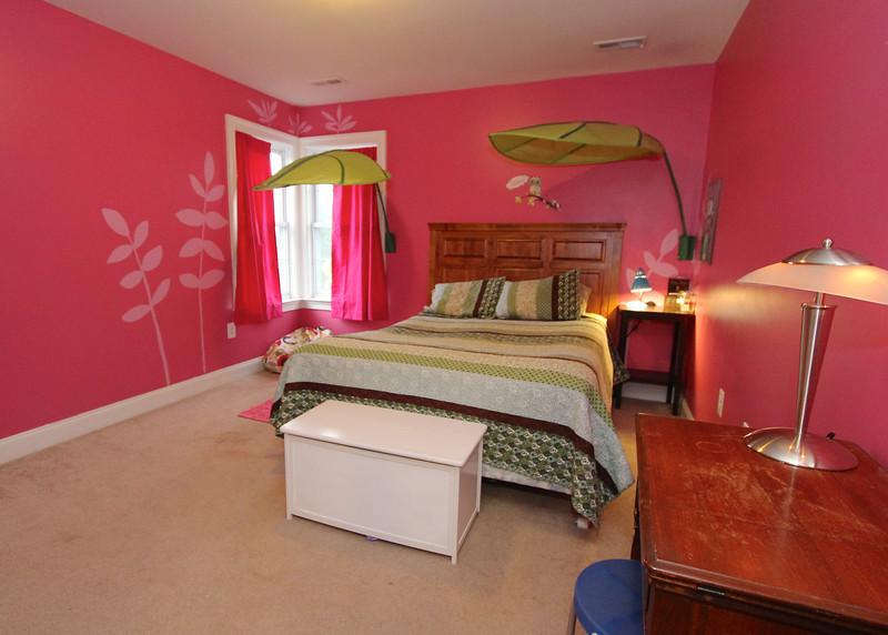 Bedroom on upper level.
