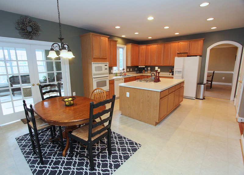 Huge kitchen!