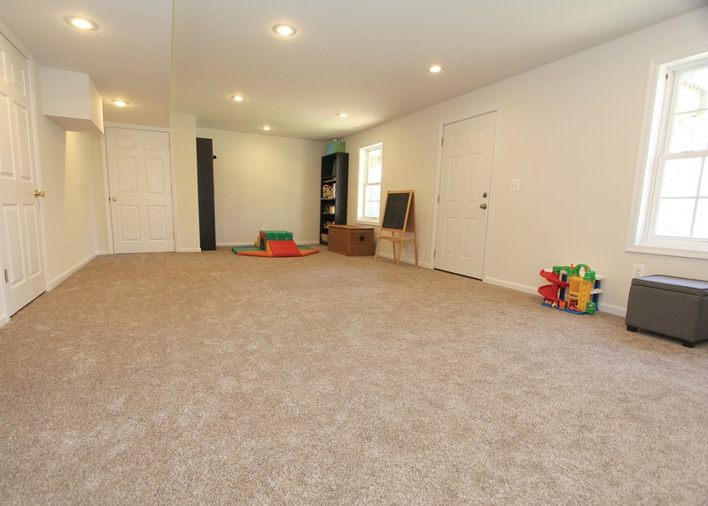Brand new finished rec room on lower level!