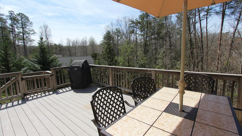 Beautiful views from large deck on back!