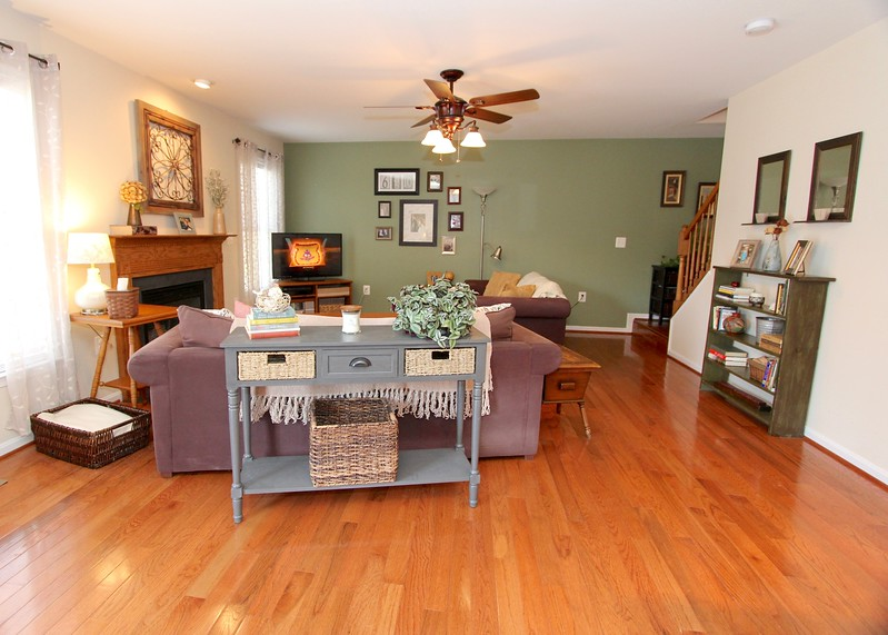 Gorgeous hardwood flooring on main level!