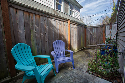 Queen Anne Seattle Townhouse Real Estate Photography