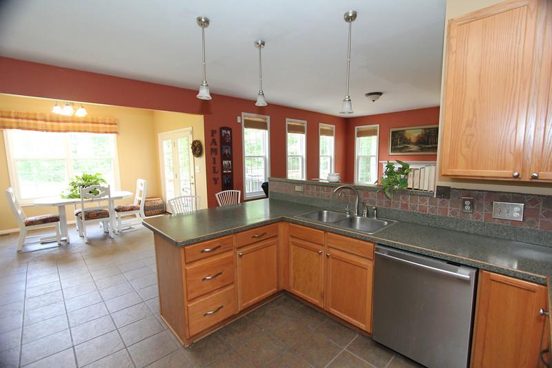 Kitchen overlooking Breakfast Area