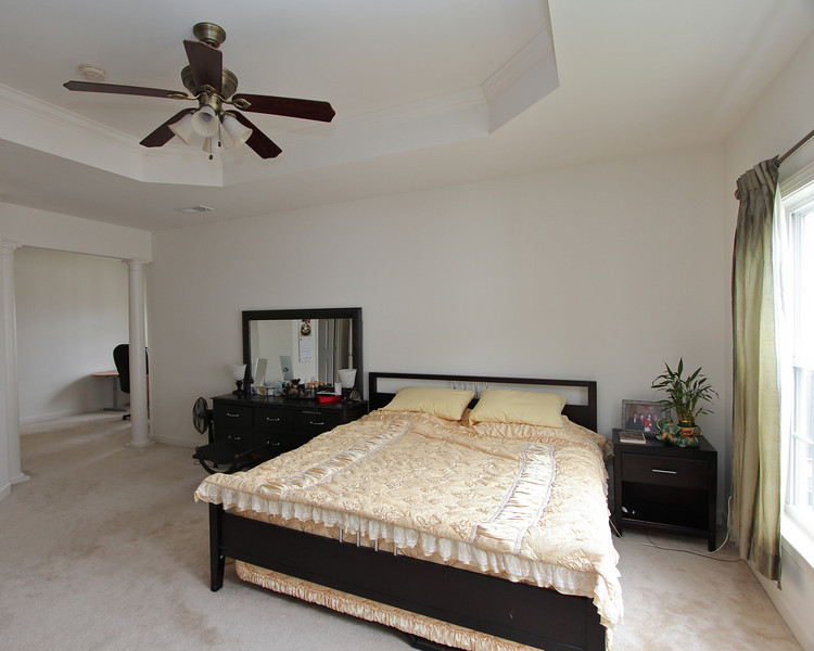 Master Bedroom has ample space plus two walk-in closets.