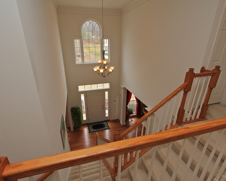 Great Palladian Window in the 2-story grand entry.