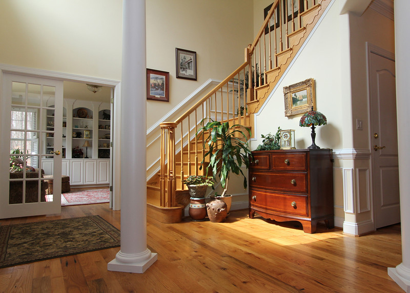Gorgeous main foyer entry.