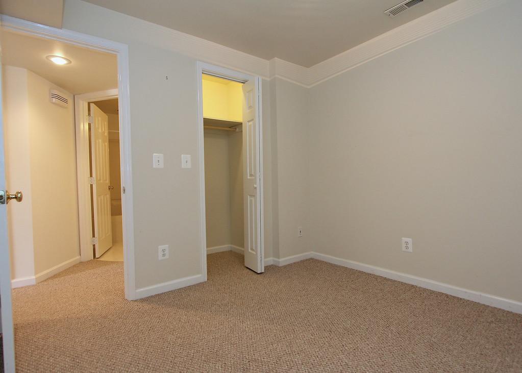 Bonus room w/closet on lower level