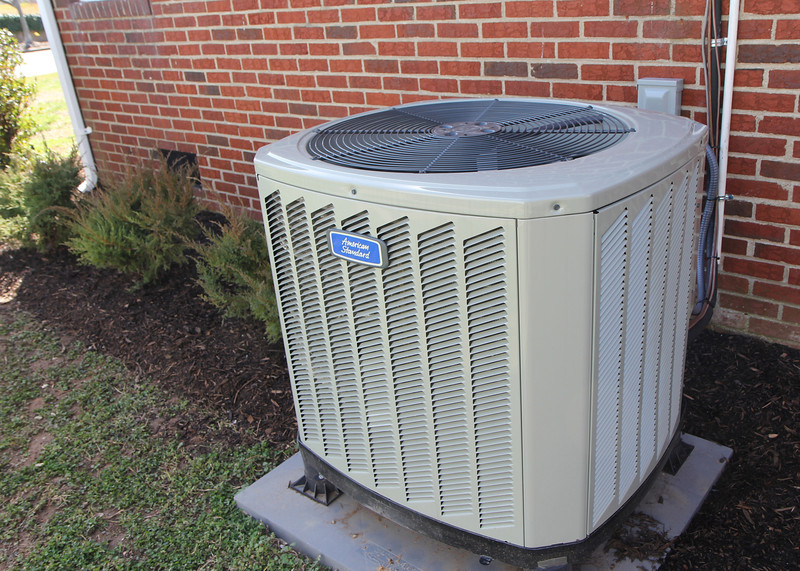New HVAC heat pump ensures energy efficiency and comfort year round!