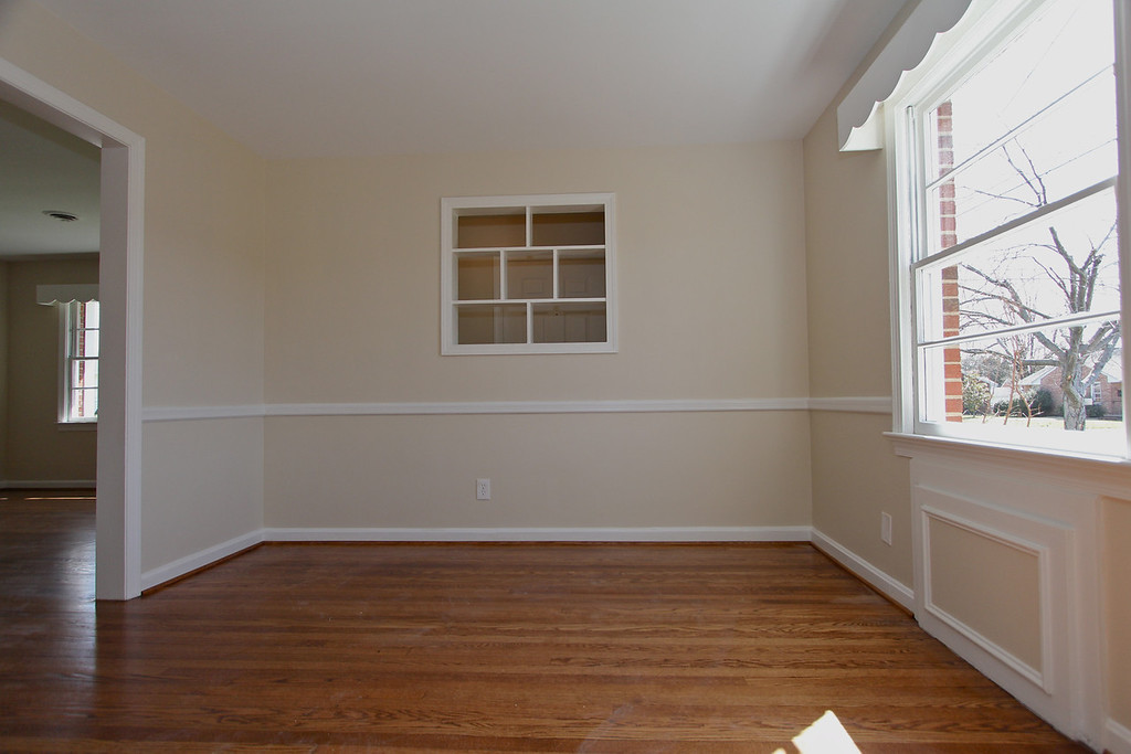 Dining room off the kitchen and living room provides perfect space for entertaining!