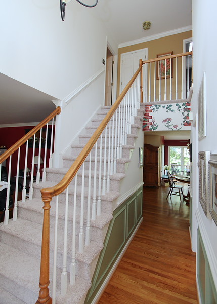 All new carpet on stairs and upper level