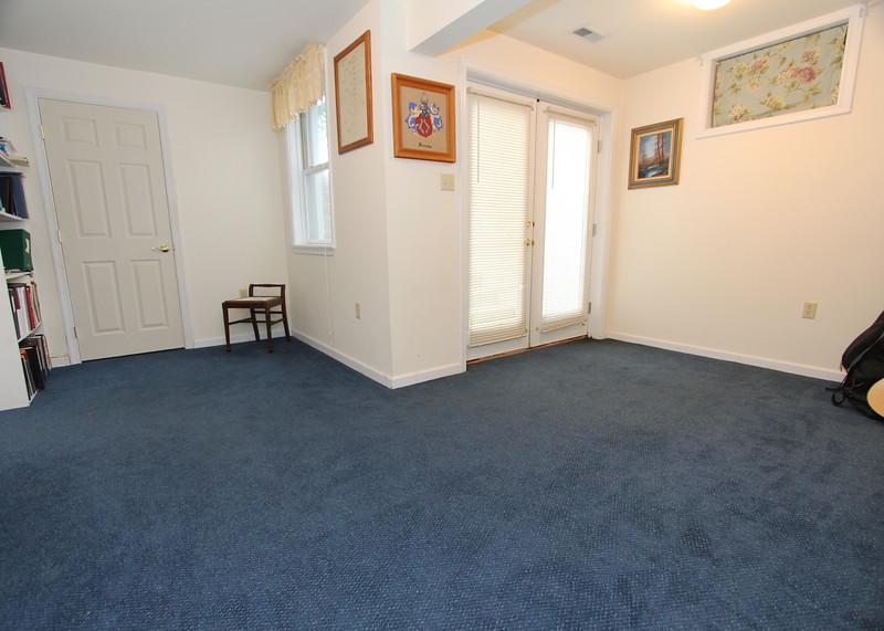 Basement level BR or bonus room