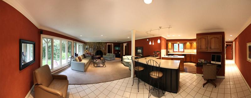 Family Room Panorama