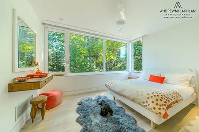 Guest Room, Lake Joseph Cottage, Muskoka, Ontario, Canada