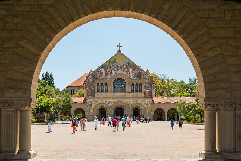 Stanford Chapel in Palo Alto