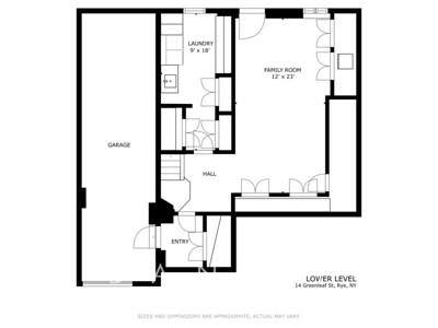 14 Greenleaf St lower lvl - FLOOR PLAN