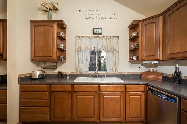 Kitchen sink area 1