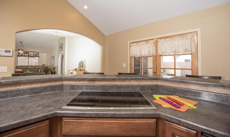 Kitchen stove bar